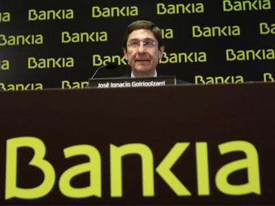 Goirigolzarri (Bankia) no concreta la venta de Iberdrola