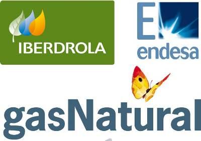 Resultado de imagen de Iberdrola, Endesa y Gas Natural Fenosa