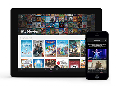 Disney ofrece servicio de películas en nube para móviles e Internet