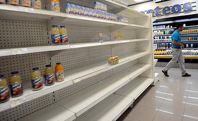 Venezuela alcanza un índice de escasez del 28%