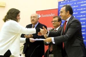 Banco Santander entrega treinta premios en la UIB