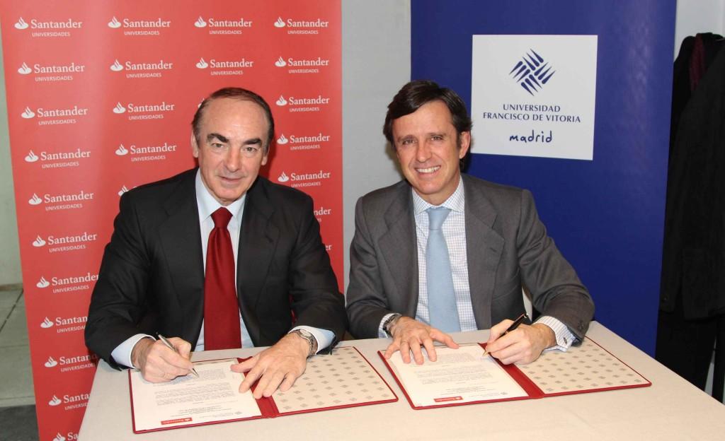 Banco Santander renueva su colaboración con la UFV