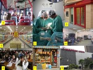 El sector servicios cae un 2,3% en 2013