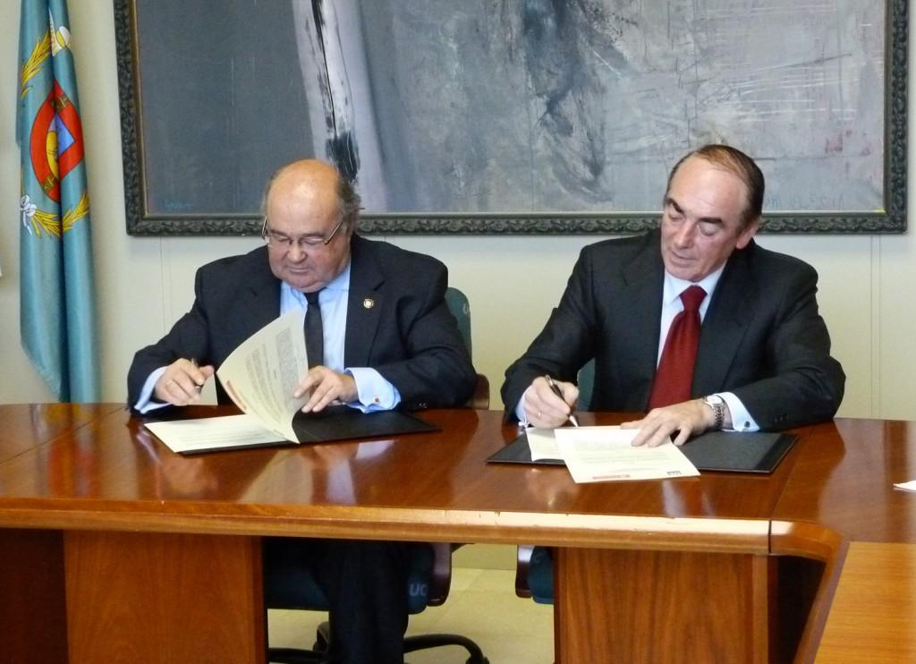 Banco Santander amplía colaboración con Universidad de Cantabria
