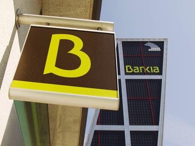 Bankia, calificada con 'BBB-', según Fitch
