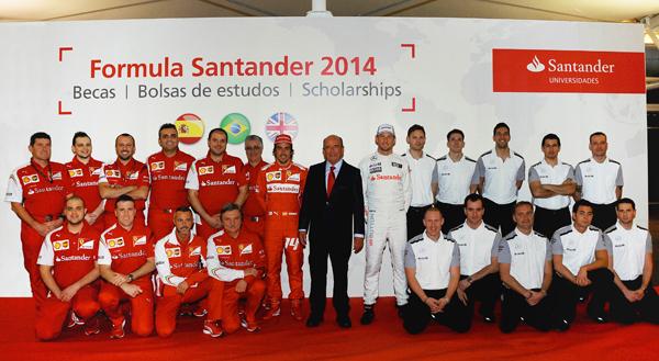 Emilio Botín presenta 5ª edición de Becas Fórmula Santander