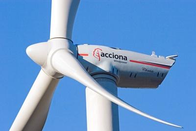 Acciona muestra a expertos su parque eólico de Tarrés