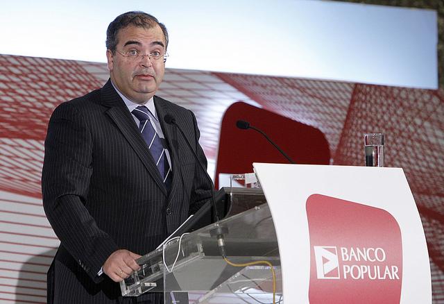Banco Popular aumentará su capital hasta un 0,24 % para pagar el dividendo