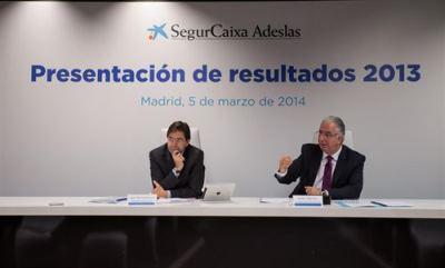 SegurCaixa  Adeslas crece un 28% más en 2013
