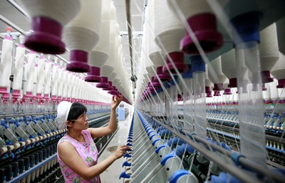 El sector manufacturero de China cae en marzo