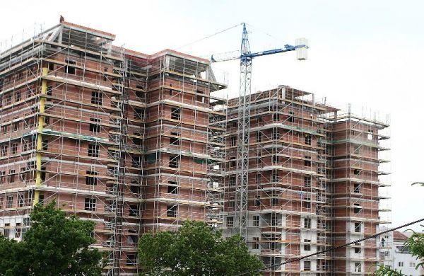 La actividad de la construcción decae un 0,6% en la eurozona