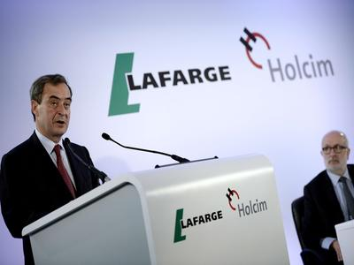 Holcim y Lafarge anuncian su fusión