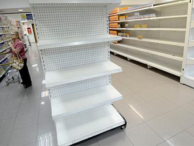 Venezuela: la escasez alcanza el 31,03%