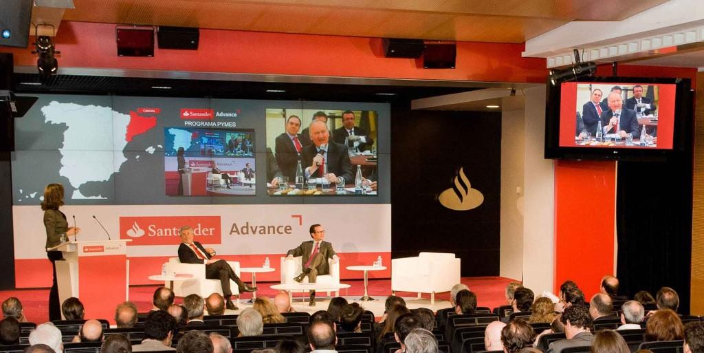 Banco Santander interactúa con 10.000 pymes gracias a Santander Advance