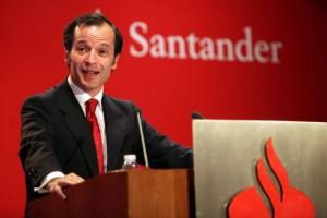 """Javier Marín: Banco Santander pasará los test de estrés """"con nota"""""""