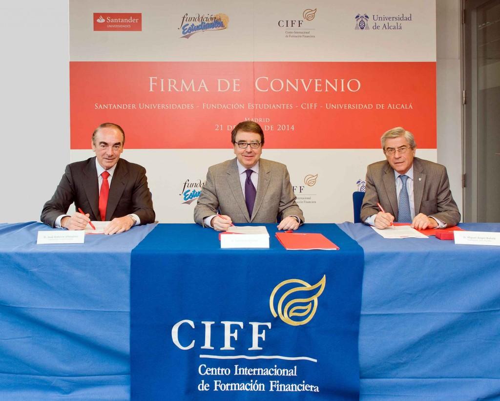 Banco Santander colaborará con la Fundación Estudiantes y el CIFF