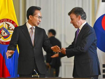 Corea del Sur ratifica el TLC con Colombia