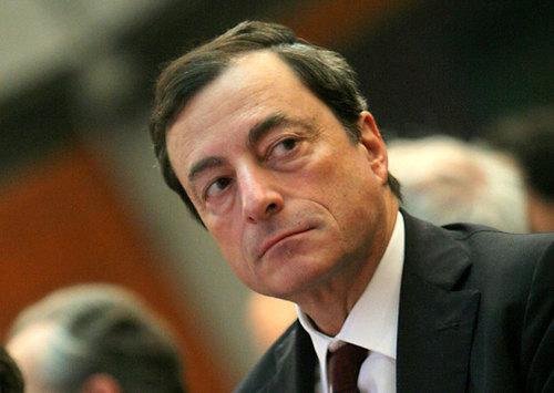 Draghi: el BCE, vigilante ante el riesgo de deflación