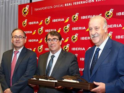 Iberia transportará a la Selección al Mundial de Brasil