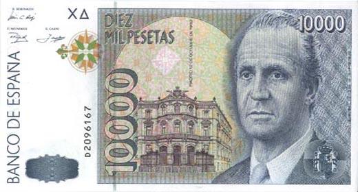 Los españoles aún mantienen 1.671 millones de euros en pesetas