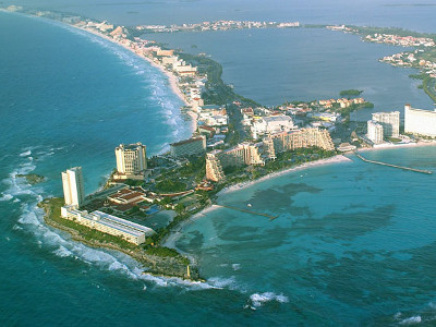 México recibe 3,7 millones de turistas