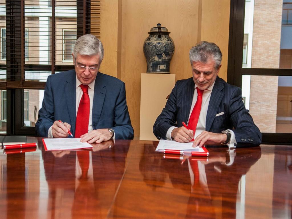 Banco Santander, colaborador estratégico de la FIAB