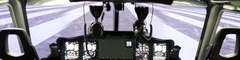 Indra implanta el primer simulador de helicóptero certificado Japón