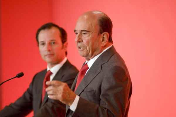 Empresarios y políticos alaban la labor de Emilio Botín