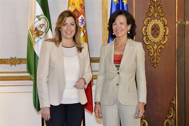 Ana Botín visita Andalucía