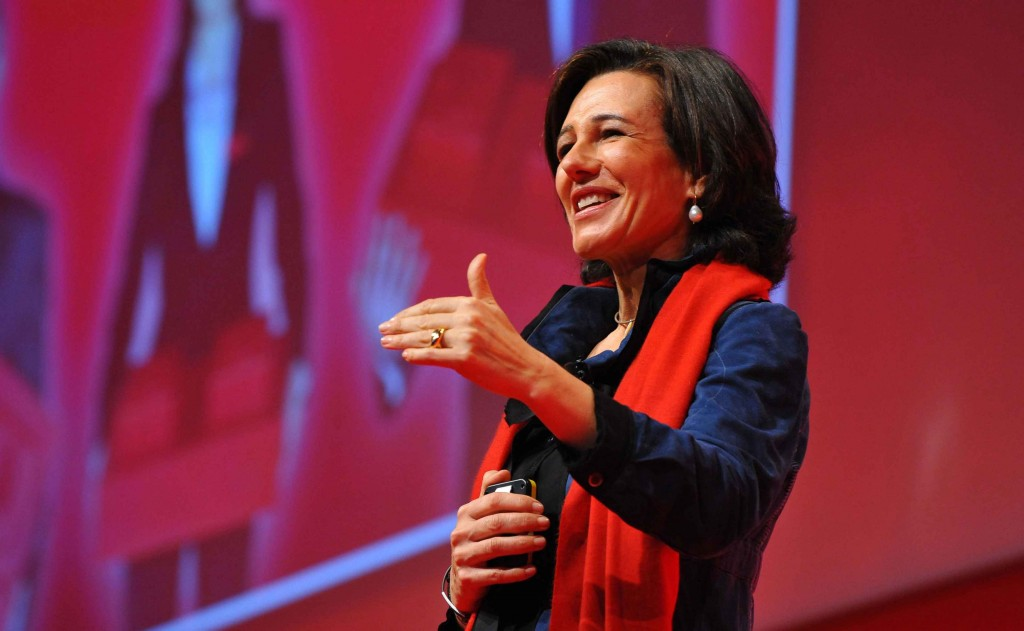 Ana Botín se reúne con empleados de Banco Santander