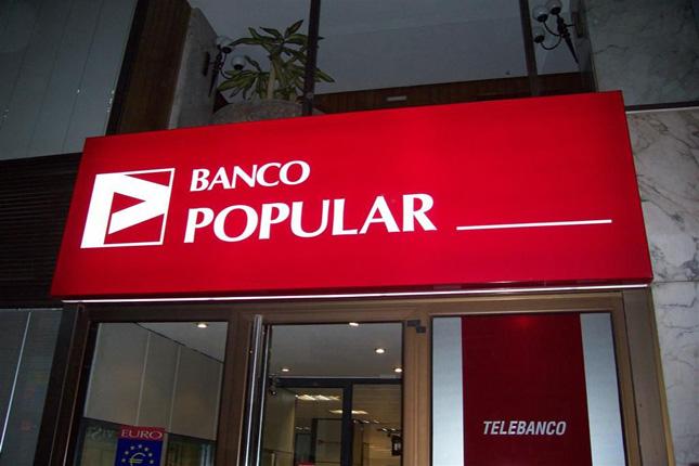 Banco Popular gana un 1,7% más hasta septiembre