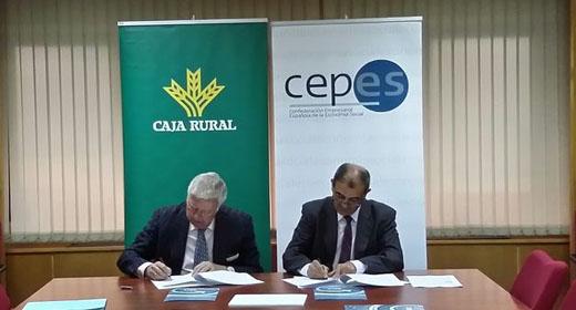 Banco Cooperativo Español y CEPES firman un convenio de financiación