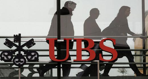 UBS obtiene un beneficio neto de 1.244 millones de euros
