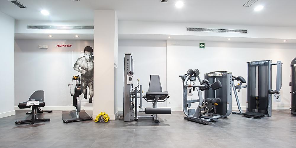 maquinas fitness urbanizaciones