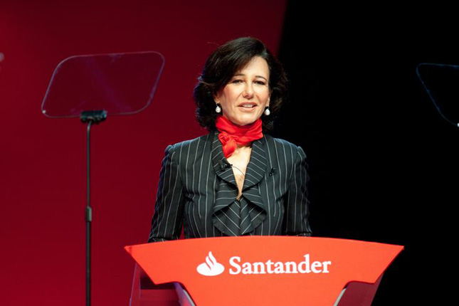 Ana Botín, vicepresidenta de la Cámara de Comercio de España