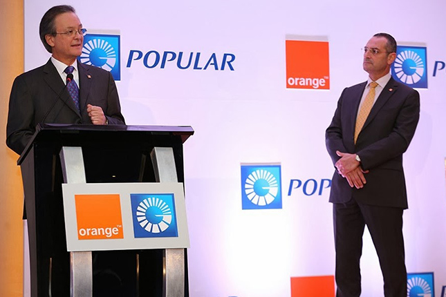Banco Popular Dominicano y Orange ofrecen el nuevo servicio Orange m-peso