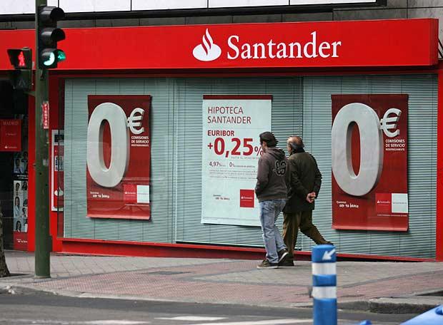 Banco Santander, entidad financiera española mejor valorada en el Dow Jones Sustainability Index