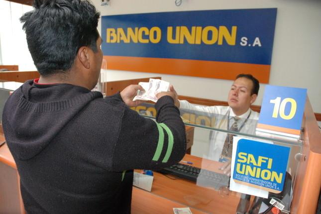 """Banco Unión de Bolivia ofrece productos """"estrella"""""""