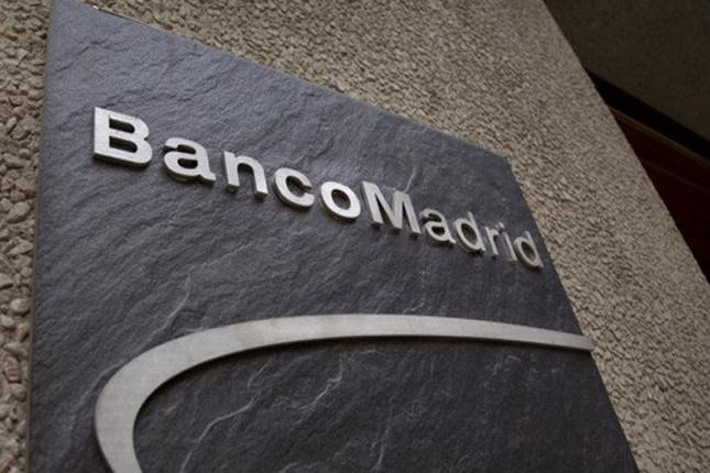 Banco Madrid entra en concurso de acreedores