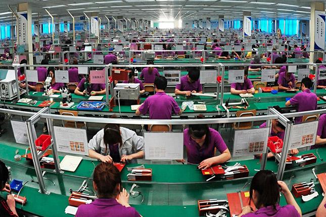 Los beneficios industriales de China aumentan un 83,4%