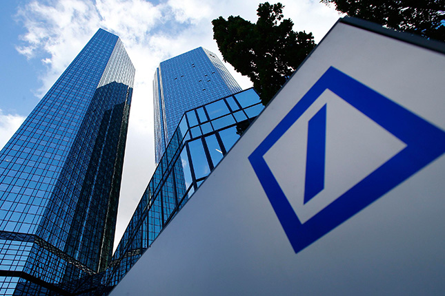 Deutsche Bank paga los tipos de financiación más altos de la banca europea
