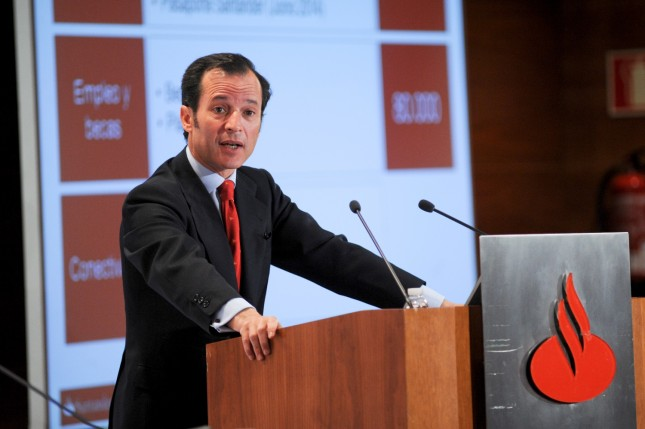 """Javier Marín (Banco Santander): """"Crecemos muy bien orgánicamente"""""""