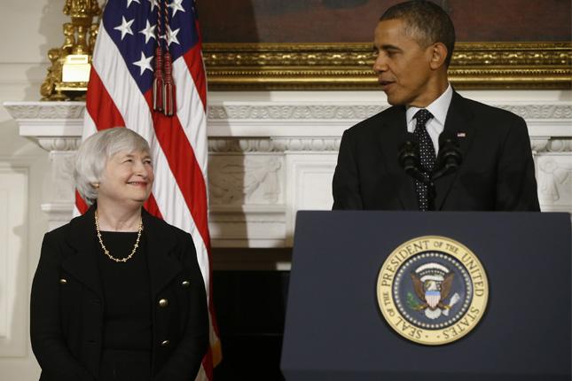 Obama se reúne con Yellen para analizar la economía