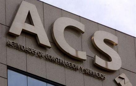 ACS gana 477 millones hasta septiembre, un 38% menos