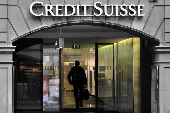 Credit Suisse pierde 2.285 millones en 2016
