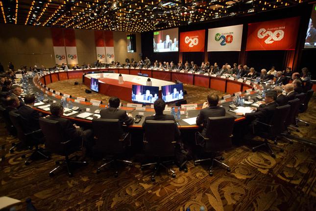 El G20 pide resolver las tensiones comerciales internacionales