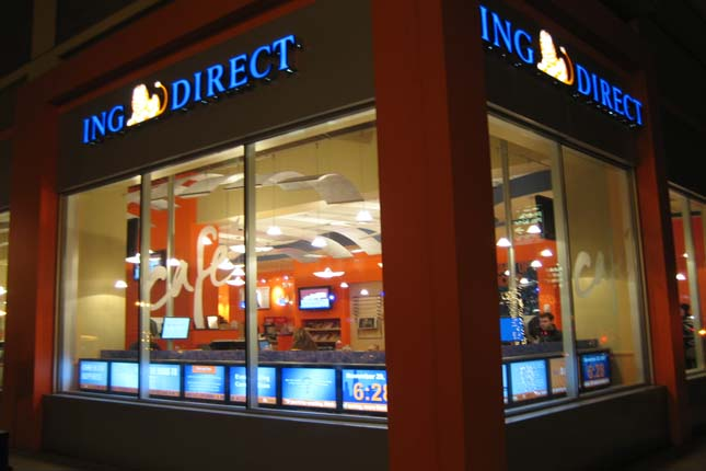 ING Direct ofrece reintegros sin comisión