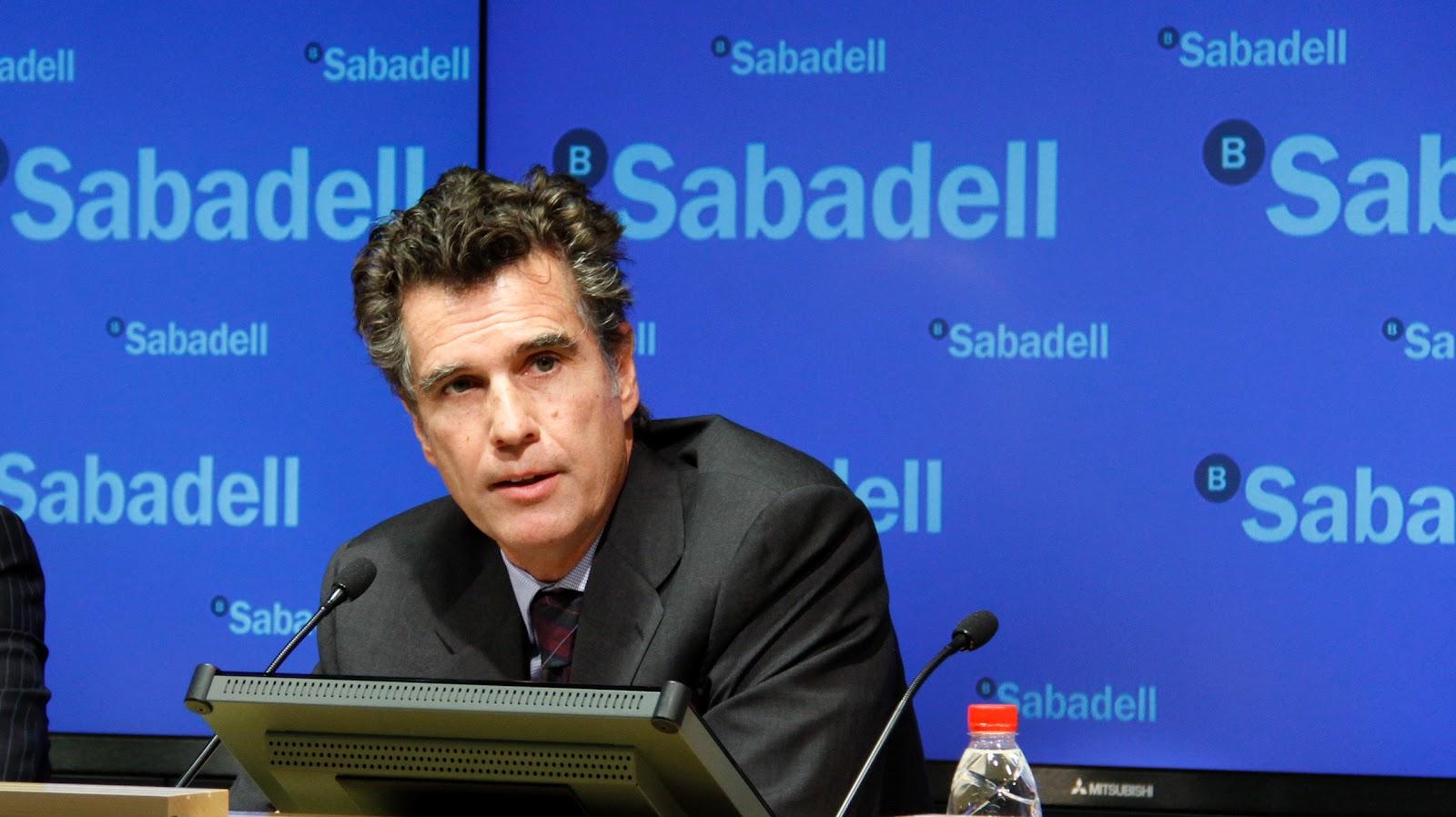 Jaume Guardiola (Banco Sabadell) compra 500.000 acciones de la entidad