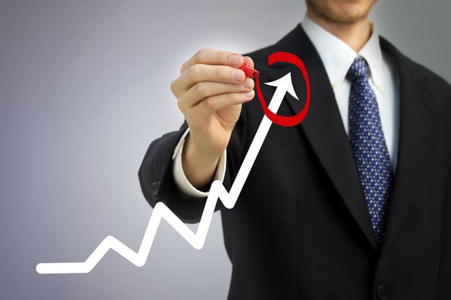 La cifra de negocios empresarial aumenta un 4,9%