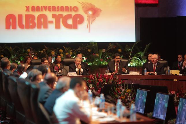 ALBA conmemora los diez años de la integración de Uruguay